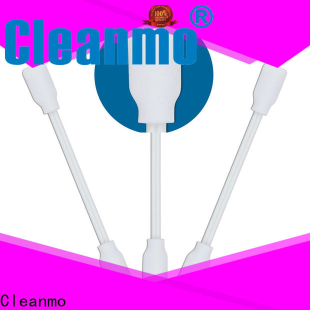 Cleanmo high quality foam tip cleaning swabs manufacturer for excess materials cleaning