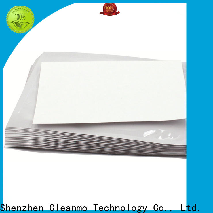 Cleanmo Aluminum Foil printer cleaning supplies supplier for ID card printers