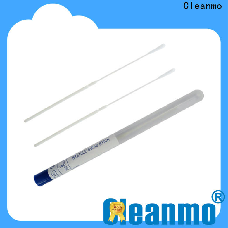 Cleanmo safe bacteria swabs supplier for molecular-based assays