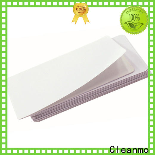 Cleanmo High and Low Tack Double Coated Tape Dai Nippon IPA Cleaning Cards manufacturer for DNP CX-210, CX-320 & CX-330 Printers
