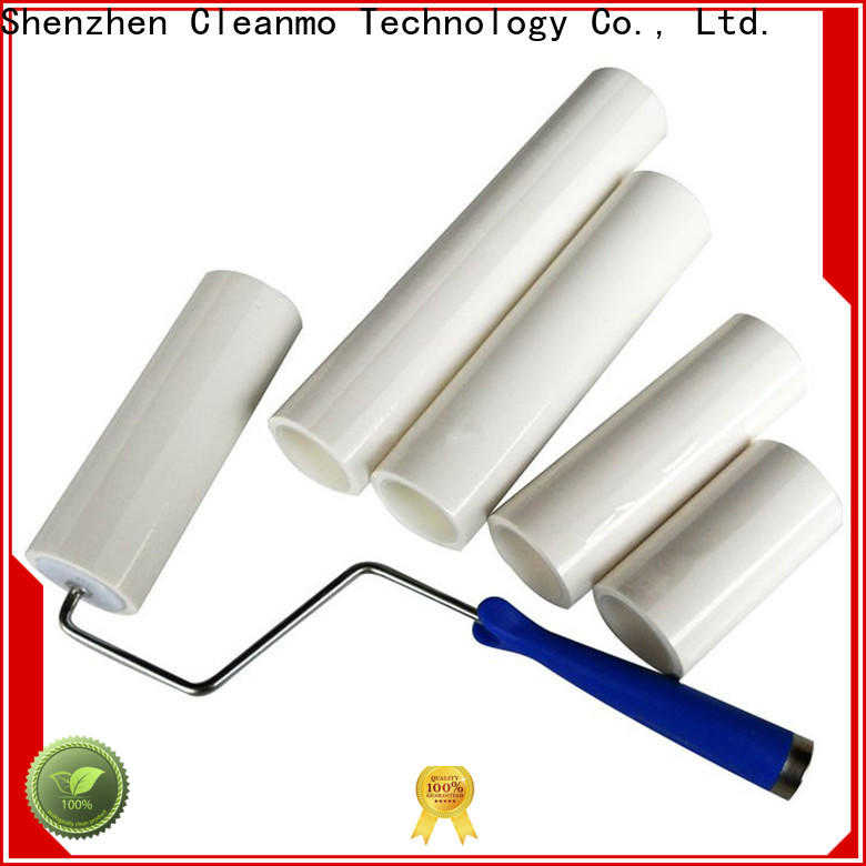 Cleanmo effective reusable lint roller manufacturer for cleaning