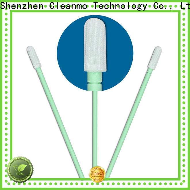 Cleanmo excellent chemical resistance toothette oral swabs supplier for microscopes