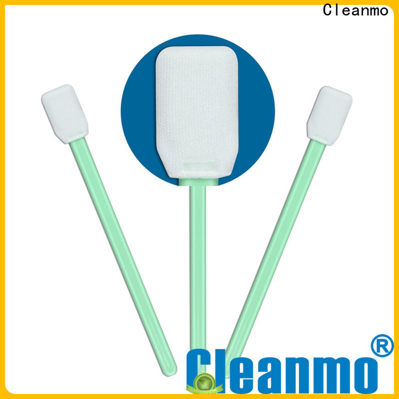 Cleanmo double layers of microfiber fabric camera sensor swabs manufacturer for general purpose cleaning