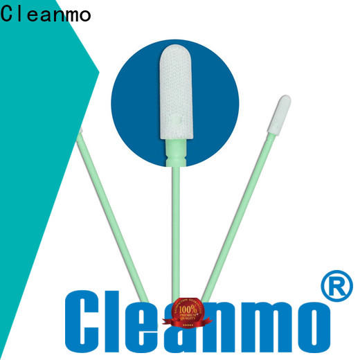 Cleanmo high quality Microfiber Industrial Swab Sticks factory price for Micro-mechanical cleaning