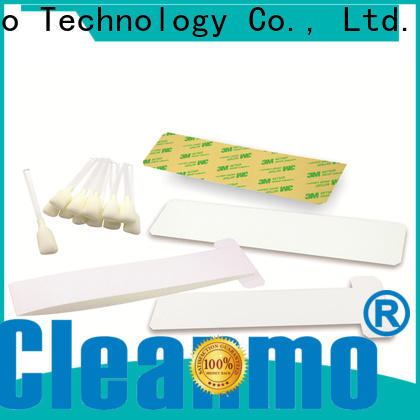 Cleanmo pvc zebra cleaning card factory for ID card printers