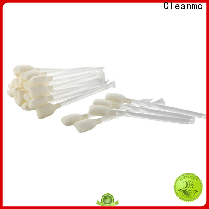 Cleanmo Sponge isopropyl alcohol Snap swabs supplier for ATM/POS Terminals