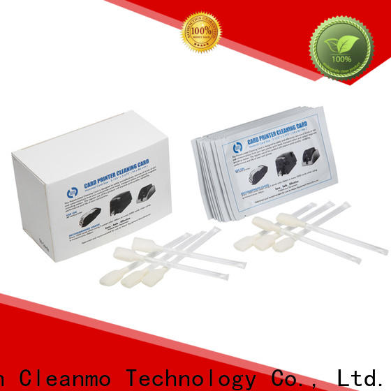 Cleanmo safe zebra printer cleaning cards supplier for cleaning dirt