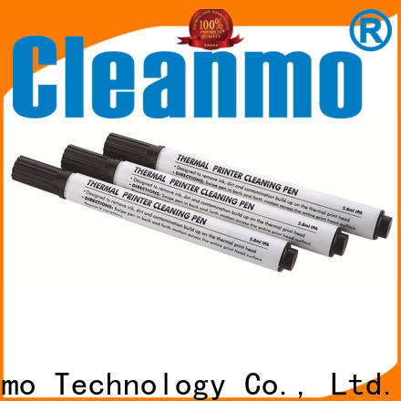 Cleanmo Hot-press compound Evolis Cleaning cards wholesale for Cleaning Printhead