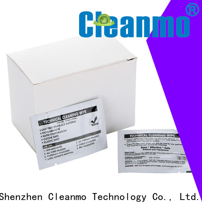 Cleanmo high quality Evolis Cleaning Pens factory price for ID card printers