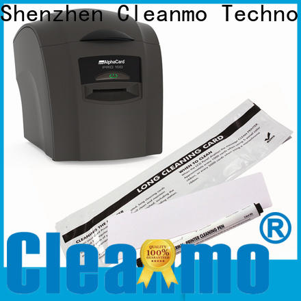 Cleanmo Non Woven AlphaCard Printer Cleaning Kits factory for AlphaCard PRO 100 Printer
