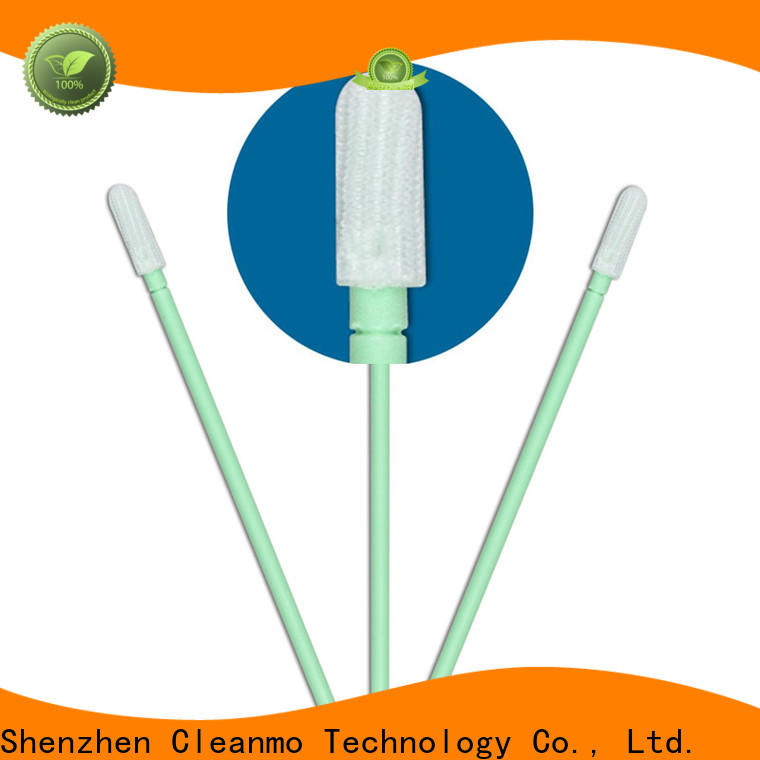 Cleanmo good quality polyester cleanroom swabs wholesale for microscopes
