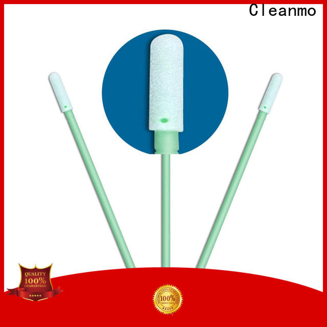 ESD-safe oral mouth swabs green handle supplier for general purpose cleaning