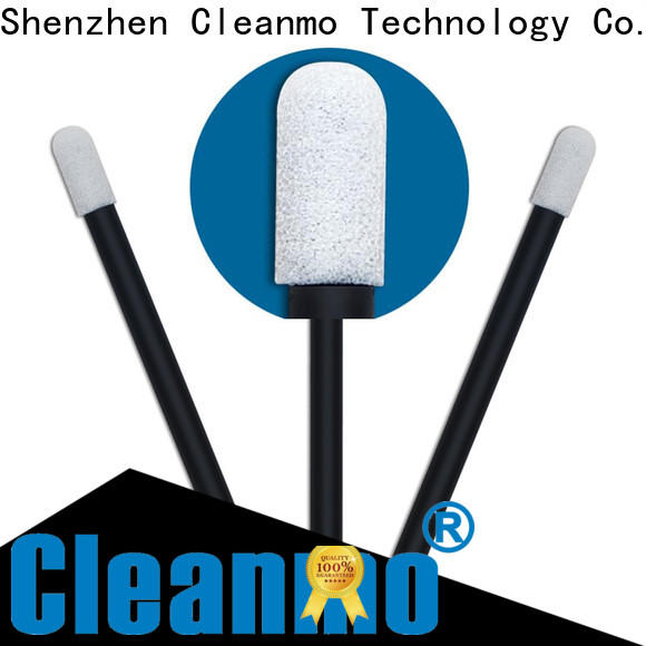 Cleanmo ESD-safe Foam Cleaning Swabs factory price for excess materials cleaning