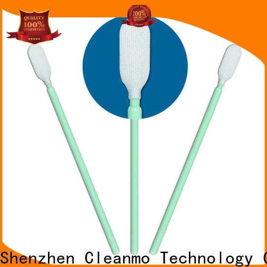 Cleanmo excellent chemical resistance sensor cleaning swabs supplier for general purpose cleaning