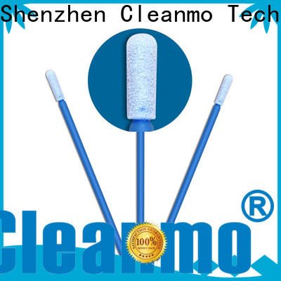 Cleanmo high quality polyurethane foam swabs supplier for excess materials cleaning