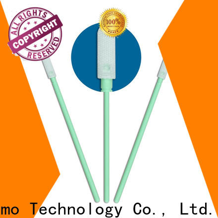 Cleanmo Polypropylene handle camera sensor cleaning swabs manufacturer for Micro-mechanical cleaning