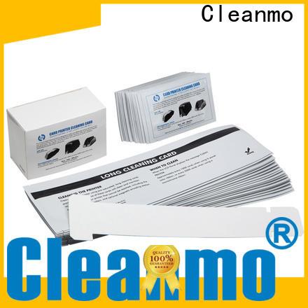 Cleanmo pvc zebra cleaning kit factory for Zebra P120i printer