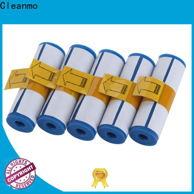 Cleanmo pvc printer cleaner factory for the cleaning rollers