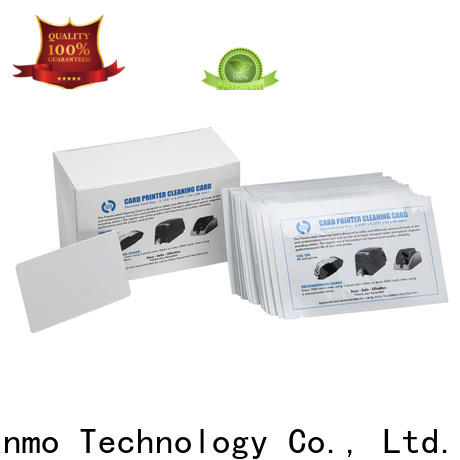 Cleanmo safe printer cleaning tools manufacturer for Fargo card printers