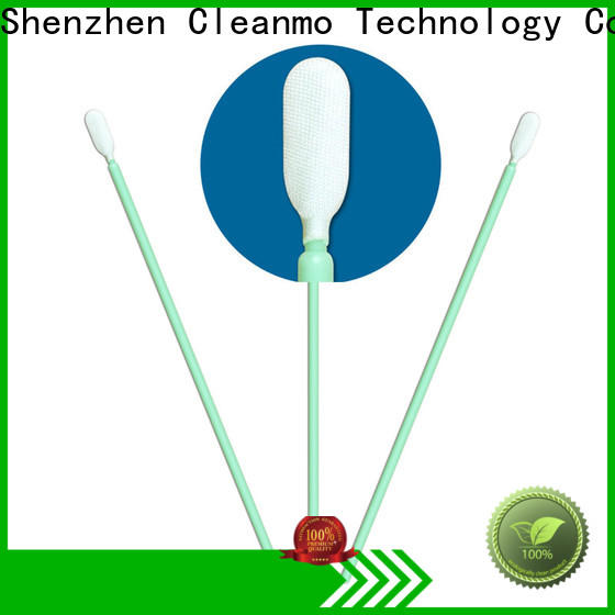 Cleanmo excellent chemical resistance microfiber swabs manufacturer for Micro-mechanical cleaning