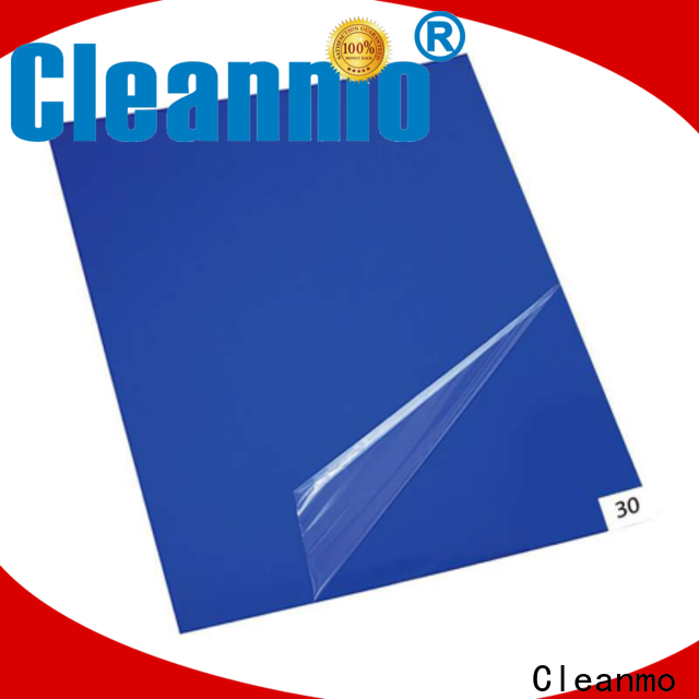 Cleanmo sensitive adhesive entry mat supplier for gowning rooms