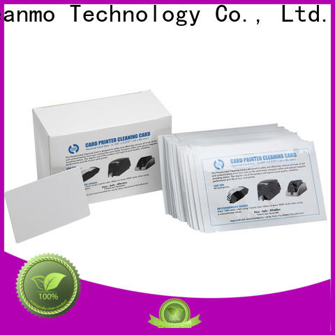 Cleanmo spunlace hotel key card cleaner wholesale for Smart Card Readers