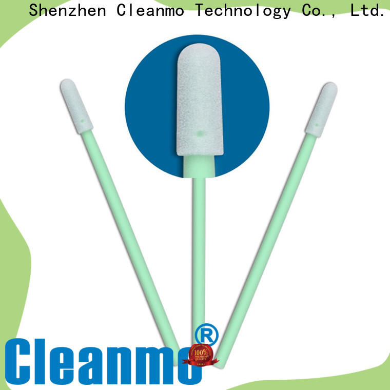 ESD-safe pointed cotton buds precision tip head factory price for excess materials cleaning