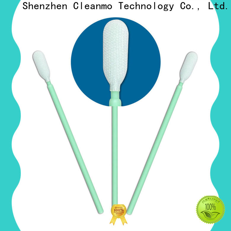 good quality clean room cotton swabs flexible paddle manufacturer for printers