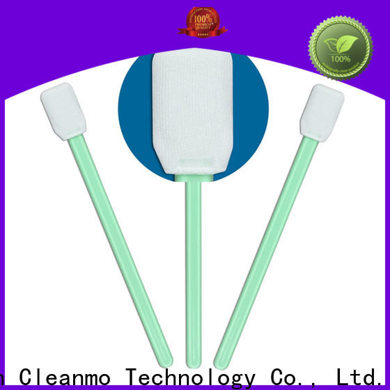 Cleanmo Polypropylene handle cleaning validation swabs wholesale for excess materials cleaning
