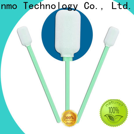 affordable Disposable Microfiber Swabs EDI water wash supplier for general purpose cleaning