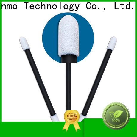 ESD-safe ear wax on cotton bud small ropund head supplier for excess materials cleaning