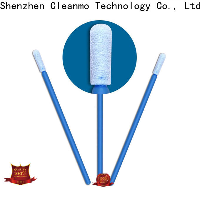 cost-effective precision cotton swabs small ropund head factory price for Micro-mechanical cleaning