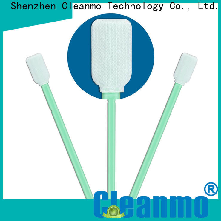 Cleanmo double layers of microfiber fabric camera sensor cleaning swabs wholesale for Micro-mechanical cleaning