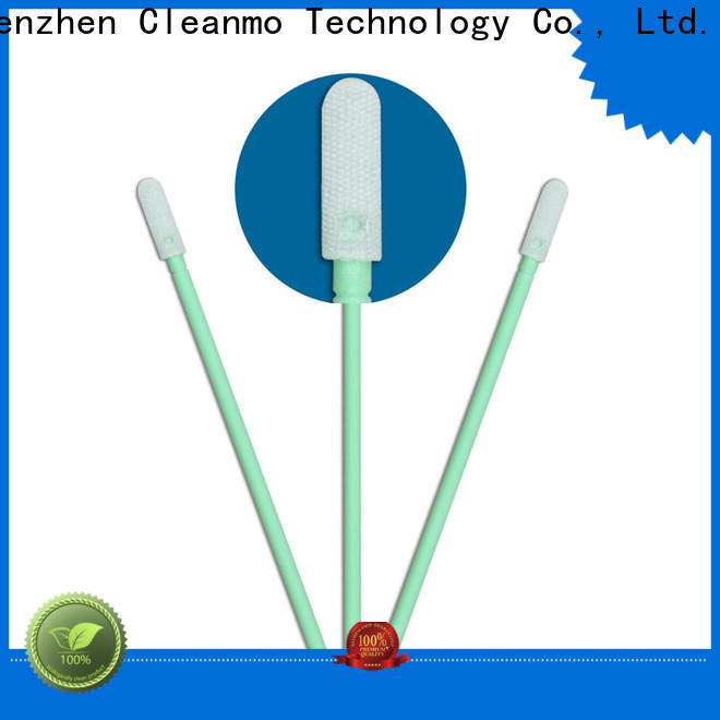ESD-safe optic cleaning swabs EDI water wash supplier for general purpose cleaning