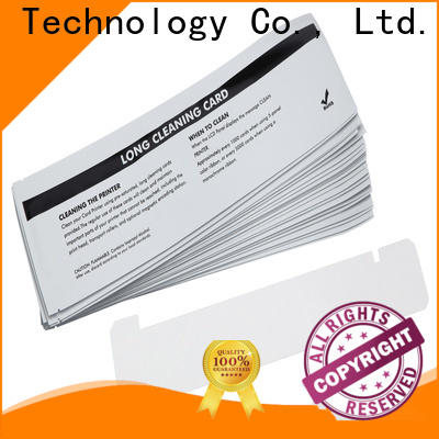 Custom zebra cleaning kit non woven supplier for ID card printers