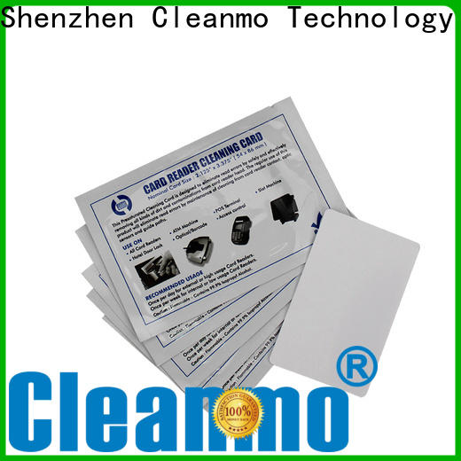 Cleanmo PVC datacard cleaning kit manufacturer for ImageCard Magna
