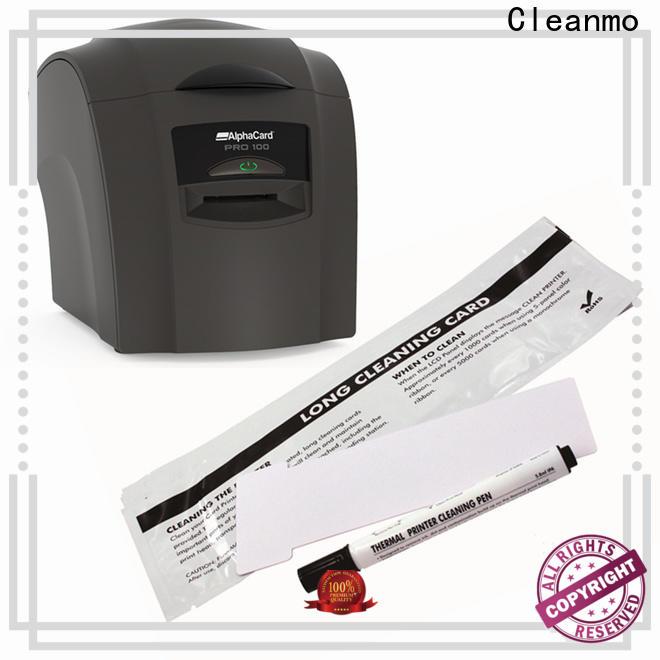 Wholesale ODM AlphaCard Short T Cleaning Cards Aluminum foil packing manufacturer for AlphaCard PRO 100 Printer
