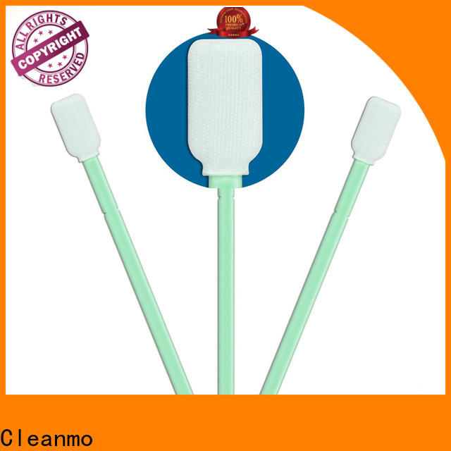compatible polyester tipped swabs double-layer knitted polyester supplier for printers