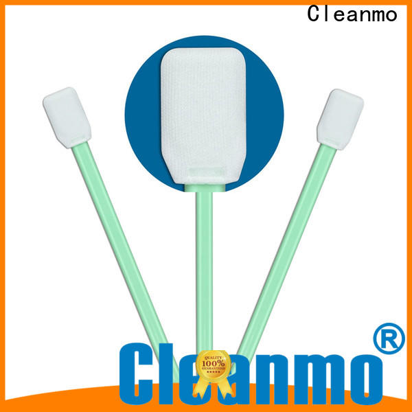 Cleanmo excellent chemical resistance camera sensor cleaning swabs supplier for excess materials cleaning
