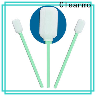 Cleanmo excellent chemical resistance micro cotton swabs factory price for Micro-mechanical cleaning