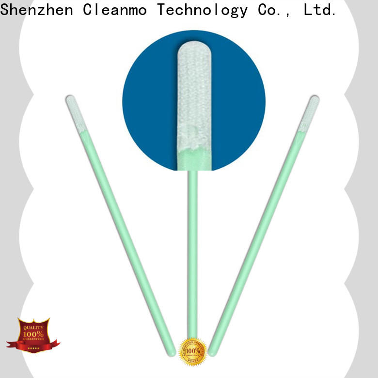 Cleanmo Polypropylene handle micro cotton swabs manufacturer for Micro-mechanical cleaning