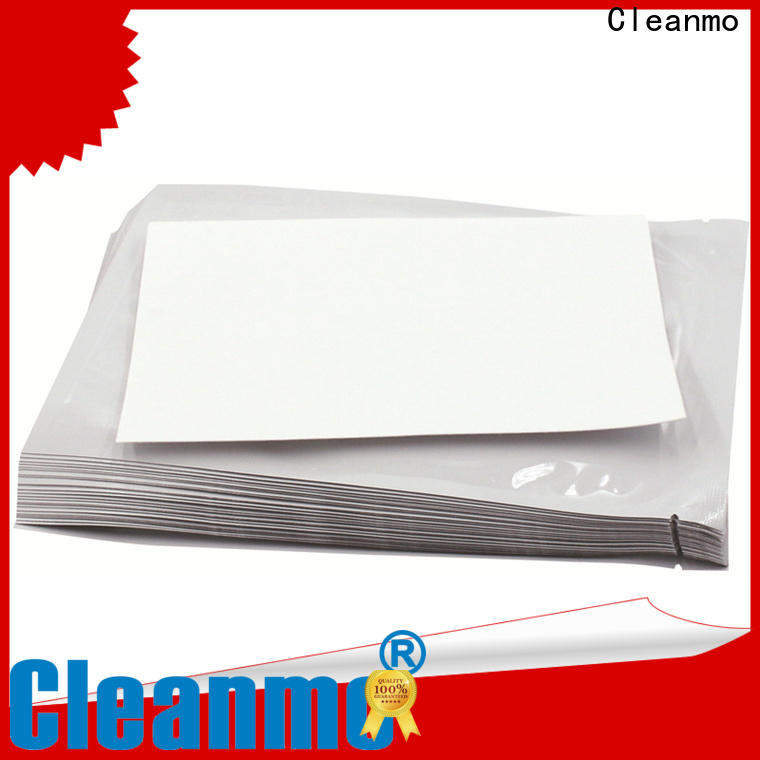 Cleanmo Aluminum Foil evolis cleaning kits supplier for Cleaning Printhead
