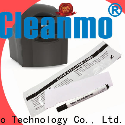 Cleanmo Wholesale OEM AlphaCard Printer Cleaning Kits factory for AlphaCard PRO 100 Printer
