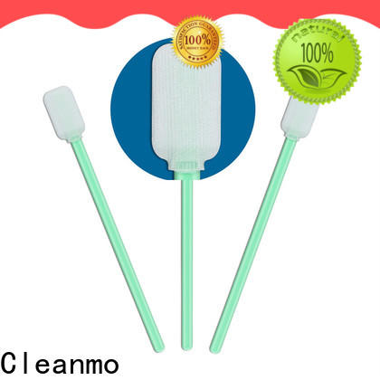Cleanmo compatible sterile polyester swabs factory for printers