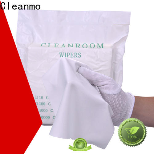 good quality lens wipes 70% Polyester manufacturer for stainless steel surface cleaning