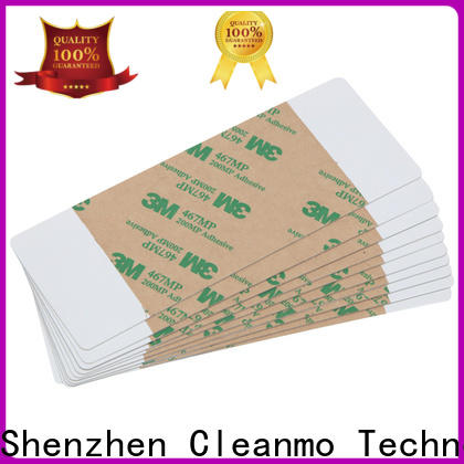 Cleanmo low-tack adhesive paper datacard cleaning kit manufacturer for ImageCard Magna