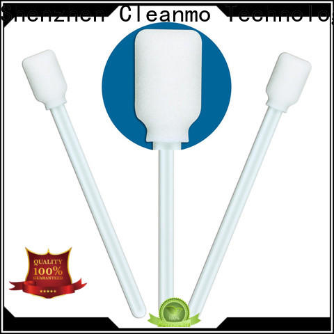 ODM foam tips thermal bouded wholesale for excess materials cleaning