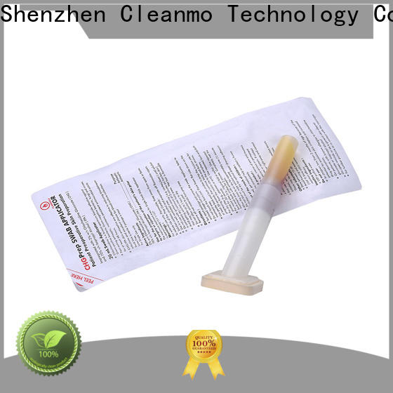 Cleanmo 70% isopropyl alcohol liquid surgical CHG applicator wholesale for routine venipunctures