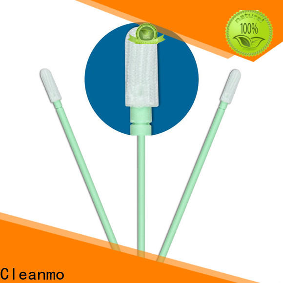 Cleanmo excellent chemical resistance dacron tipped swab wholesale for general purpose cleaning