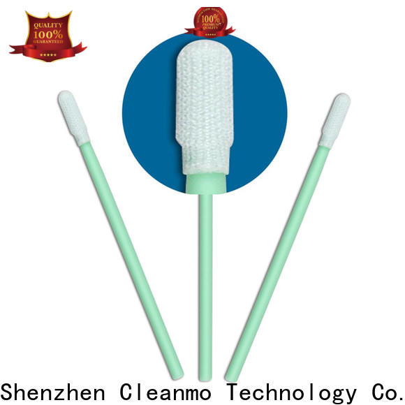 Cleanmo compatible Cleanroom polyester swab manufacturer for general purpose cleaning